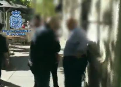 Video: así fue detenido Julio Ligorría por la policía en España