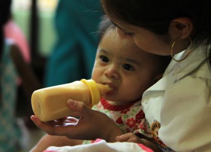 Registran 73 niños muertos por desnutrición durante 2013
