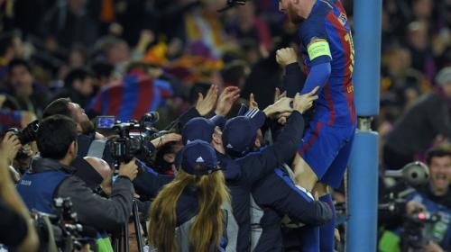 ¡Remontada! El Barcelona gana 6-1 y clasifica a Cuartos de Final