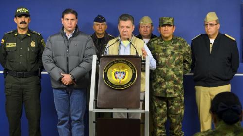 Colombia suspende diálogos de paz con FARC tras secuestro de general