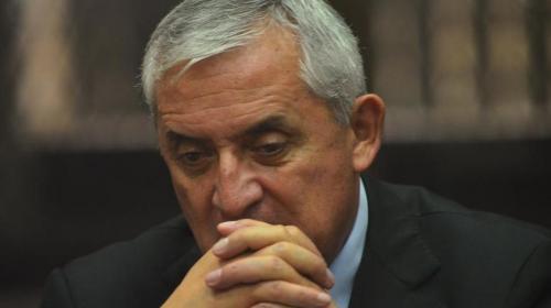 Otto Pérez Molina dice estar enfermo y pide un chequeo médico