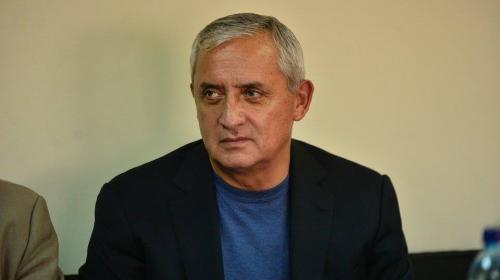 MP revela transacciones sospechosas de Otto Pérez Molina