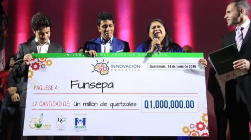 Funsepa obtiene el Premio Nacional de Innovación Educativa