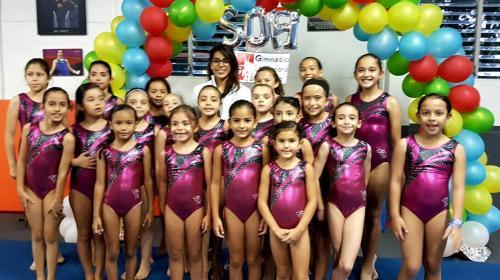 Ana Sofía Gómez lanza su línea de moda para gimnastas