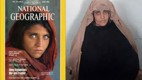 Arrestan en Pakistán a la protagonista de una famosa portada de NatGeo