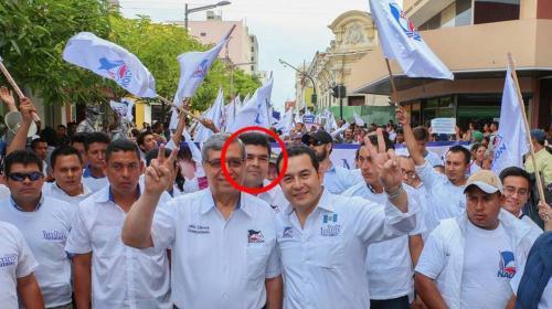 Él es el hijo de Jafeth Cabrera, ahora investigado por el MP