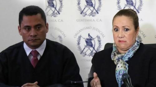Este es el audio de Blanca Stalling con el juez Carlos Ruano