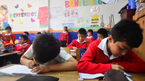 El ingreso a primero primaria será de 6 años a partir de 2018