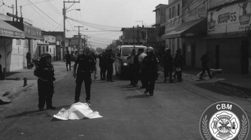 Tres muertos y dos heridos en ataque armado en la calzada San Juan