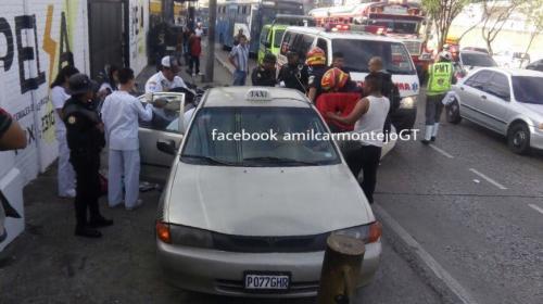 La historia de un parto que detuvo el tráfico sobre la avenida Petapa