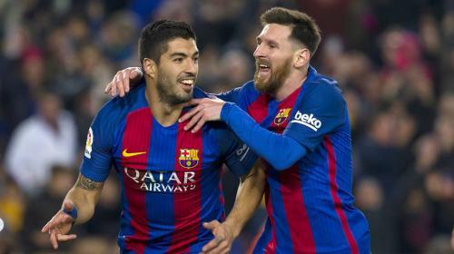 """Luis Suárez le """"robó"""" un récord a Messi"""