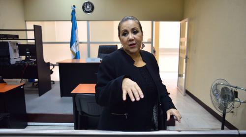 Blanca Stalling mantiene su reinado en el sistema de justicia