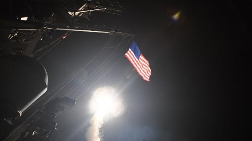 Así fue como EE. UU. lanzó el ataque con misiles a Siria