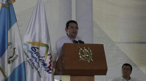 Jimmy Morales se pronuncia sobre la posible cancelación de FCN