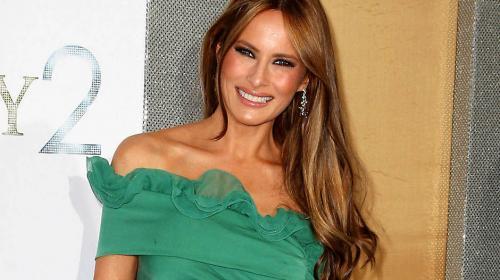 Poco a poco, Melania Trump se va acomodando a su papel de Primera Dama