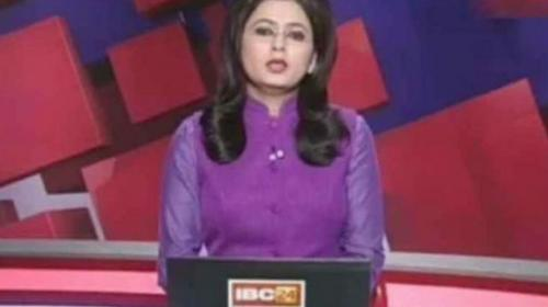 Presentadora se entera de la muerte de esposo en transmisión en vivo