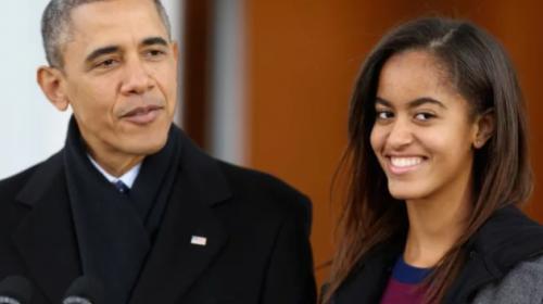 La foto de la hija de Obama que enloqueció el Internet