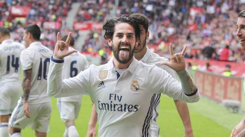 Esta es la razón por la que Isco celebró así su gol con el Real Madrid