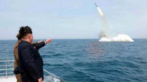 Corea del Norte lanzó un misil, pero EE.UU. dice que la prueba falló