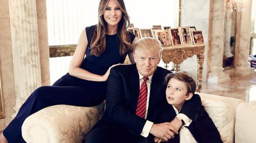 Melania y Barron Trump se mudarán a la Casa Blanca