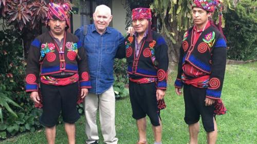 Steve McCurry, famoso fotógrafo, visitó Guatemala durante Semana Santa