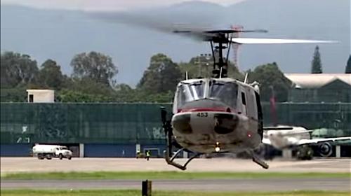 EE.UU. apoyará con cuatro nuevos helicópteros a Guatemala