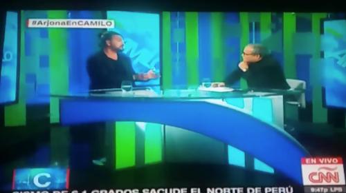 Por esta razón Ricardo Arjona se retiró de una entrevista en CNN