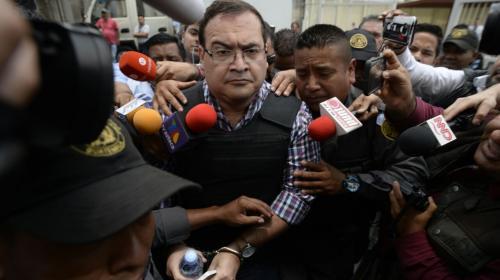 Exgobernador mexicano, Javier Duarte, se resiste a ser extraditado