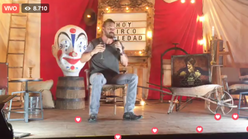 Ricardo Arjona abre su corazón y habla de su disco Circo Soledad