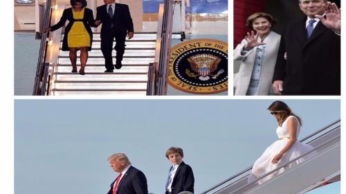 Imagen muestra la diferencia entre Trump y cinco de sus predecesores