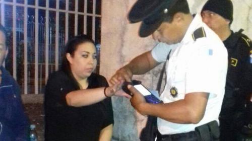 Capturan a sobrina de Sandra Torres al salir de una discoteca
