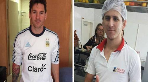 Conoce al doble de Messi que se ha convertido en una estrella viral