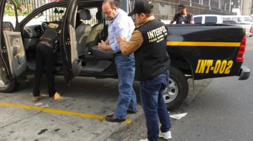 La Interpol Guatemala captura a otro prófugo internacional