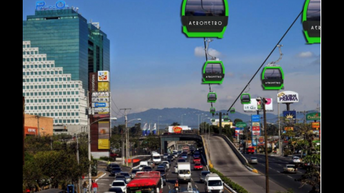 El Aerometro empezaría a funcionar en 2018 entre Mixco y Guatemala