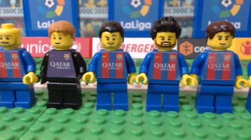La divertida recreación del clásico español con Legos