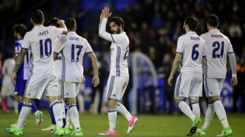 El Real Madrid celebró sus goles al estilo de FIFA 17 en Twitter