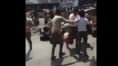 Surge nuevo video de estudiantes atropellados en la San Juan
