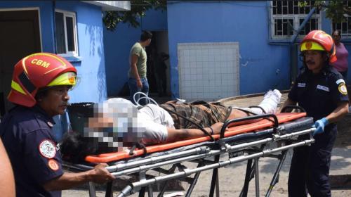 Le amputan una pierna a estudiante arrollada en la calzada San Juan