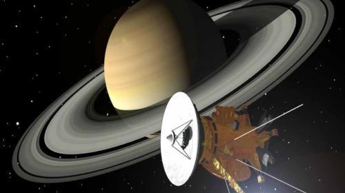 Esto registró la sonda Cassini al sobrevivir en los anillos de Saturno