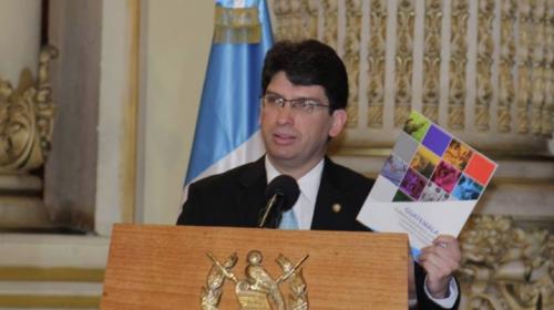 Rubén Morales renuncia a su cargo como Ministro de Economía