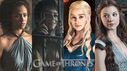"""Mira a los personajes de """"Game of Thrones"""" sin vestuario ni maquillaje"""