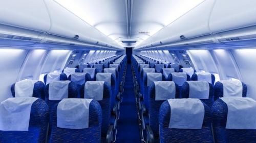 El lugar más seguro de un avión para viajar en caso de una emergencia