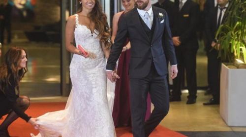 ¡Decepción! Esto recaudaron en la boda de Messi y Antonella