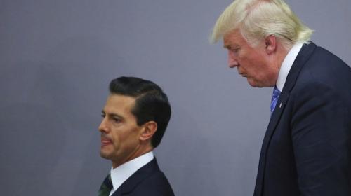 Revelan la polémica llamada entre Trump y Peña Nieto sobre el muro