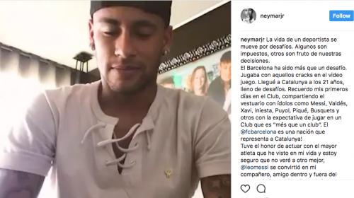 Neymar demandaría al Barcelona ante la FIFA