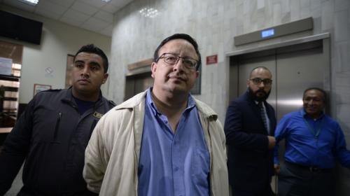 """Exdirector de Presidios capturado: """"Byron Lima generaba poder"""""""