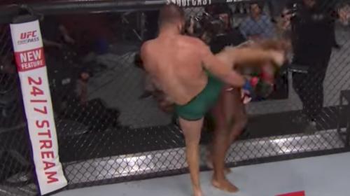 El brutal nocaut que impresionó al presidente de la UFC