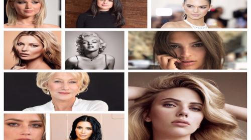 Según la ciencia, ellas son las 10 mujeres más bellas del mundo