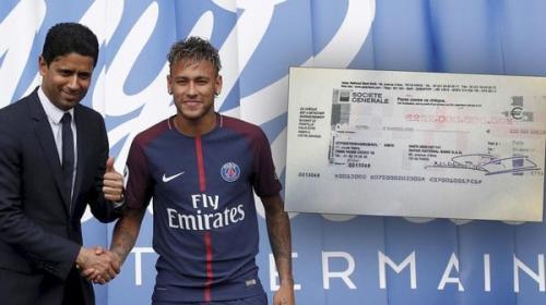Así pagó el PSG al Barcelona los 222 millones para fichar a Neymar