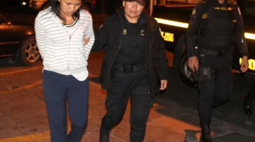 Capturan a presunta secuestradora y liberan a víctima en la zona 18